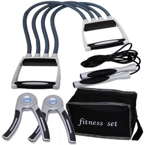 Fitness SET Trainings Set Expander // Handgrips // Springseil