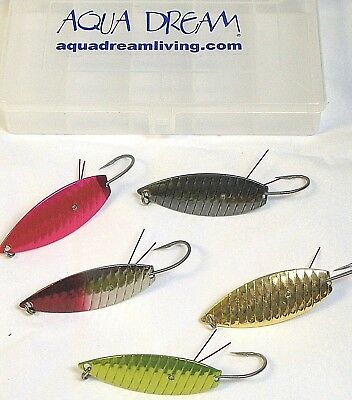 AQUA DREAM SPOONS WEEDLESS EXTREME HARD CORE KIT CAPT MIKE HAKULA