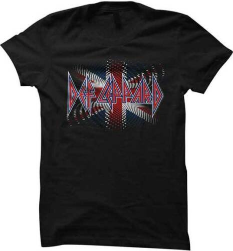 Def Leppard Black Light Poster Design Womans Fitted T Shirt Heavy Metal Music