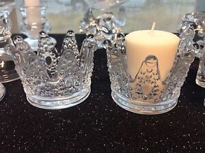 Image Is Loading 12 Princess Crown Candle Holder Favors Party Table