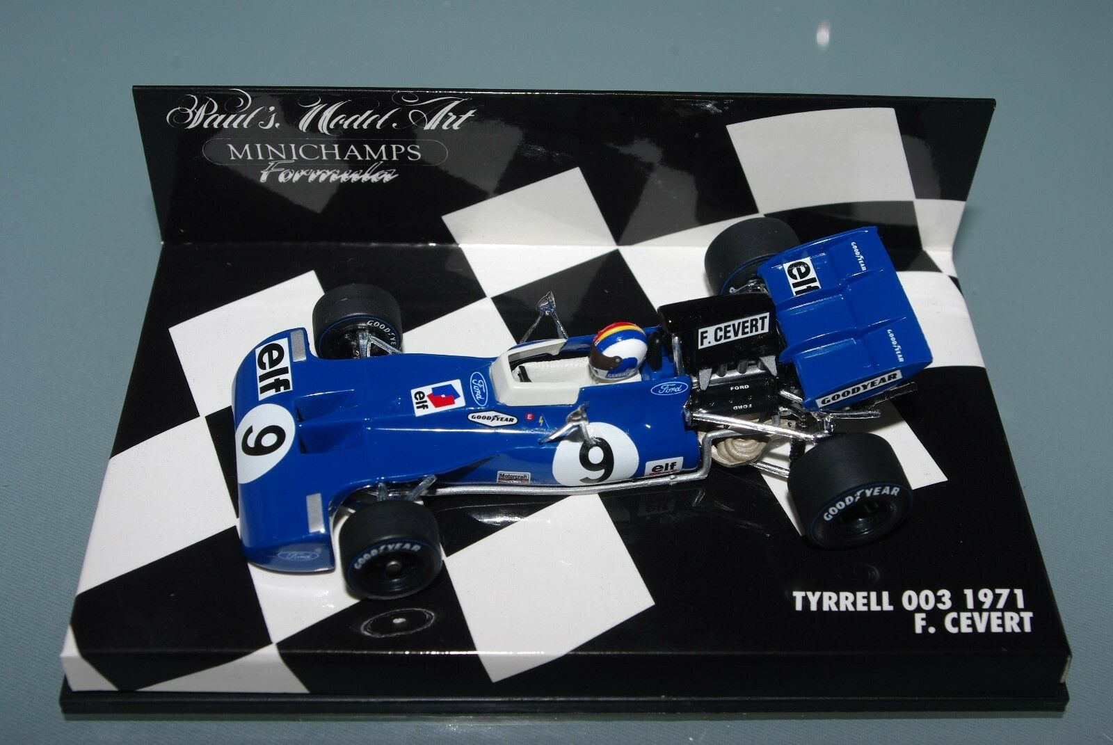 Minichamps F1 1 43 Tyrrell Ford 003-F. CEverde - 1971