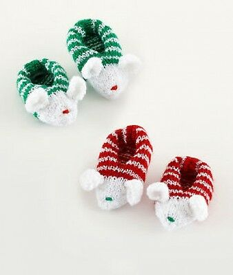 baby mouse slippers knitting pattern 99p