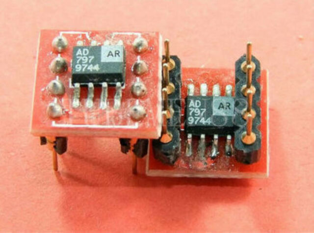ONE Pieces AD797AR Dual to Mono Operational Amp for JEFF ROWLAND ATOLL Amp