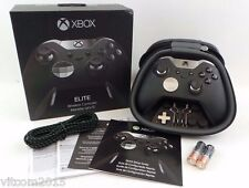 Microsoft Xbox Elite Wireless Controller for Xbox One  Black - Model 1698 #e11te