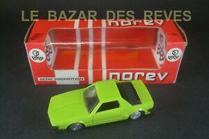NOREV FRANCE. FIAT X 1/9. Série D.  REF: 193. + Boite.