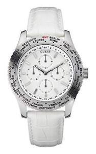 Guess-Watch-International-White-W12082G2-Honolulu-Sydney-Dubai-Chicago-Azores