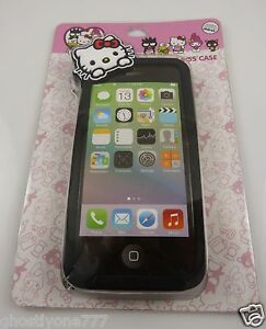 For-Iphone-5-5S-phone-case-Hello-Kitty-40-th-anniversary-peeking-over-front