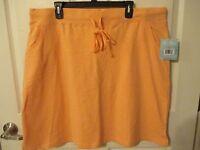 - Sun Bay Peach Summer Skirt W/pockets - Sz Xl - Very Cute