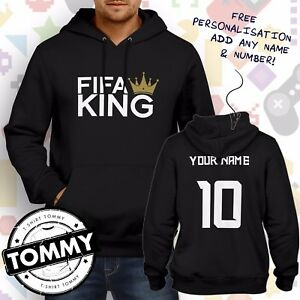 Hoodie Name Xbox Pc Hoodie Football Champ free Ps4 Gaming King Fifa qvORn5n