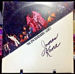 THE 5TH DIMENSION LIVE Album Released 1971 Vinyl/Record  Collection US pressed