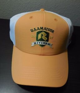 17da82a67e8 RIVIERA 2017 US AMATEUR USGA Imperial Hat Cap ~ One Size Fits All ...
