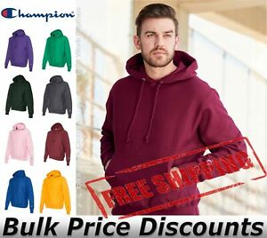 Champion-Mens-Reverse-Weave-Hooded-Pullover-Sweatshirt-S101-up-to-3XL