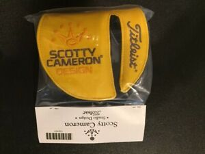 Scotty Cameron 2019 Phantom X Mid Round LEFT HANDED LH Putter Cover Titleist NIB