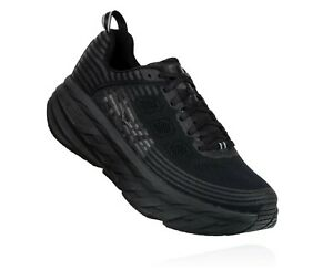 HOKA-ONE-ONE-W-BONDI-6-WIDE-Scarpe-Running-Donna-Larga-BLACK-1019272-BBLC