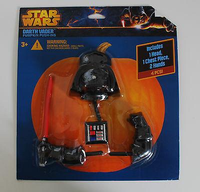 Halloween~USA~Kürbis~Star Wars~Darth Vader~Deko~Pumkin~Horror~Selten~Herbst~neu