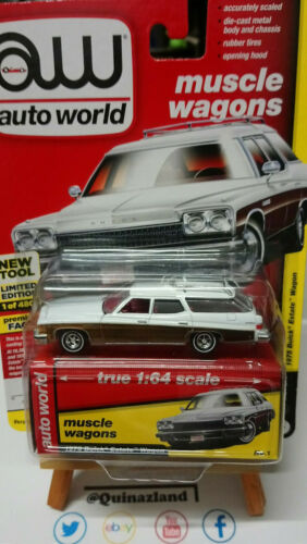 N33 Auto World 1975 Buick Estate Wagon Limited 4800 pcs N°1 Mix B