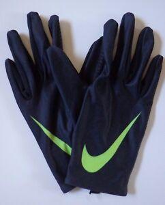 AgréAble Nike Femmes Base Couche Gants Couleur Noir / Volt Taille M