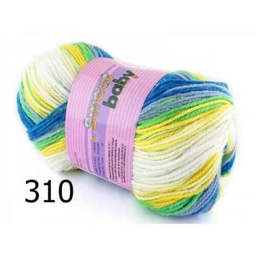Wolle Garn Häkelgarn Strickgarn Baumwolle Cotton 5x100 g Ören Bayan SWEET BABY