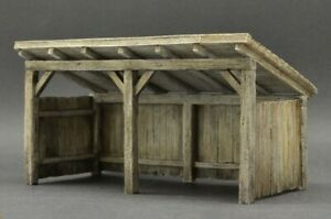 DioDump-DD170-Livestock-shed-1-35-scale-resin-diorama-building-model