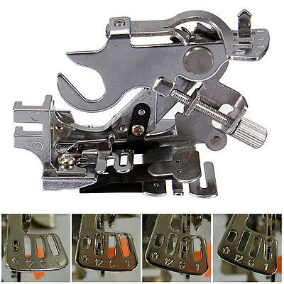 Generic Ruffler Presser Foot Attachment For Singer Brother Juki Sewing Machine