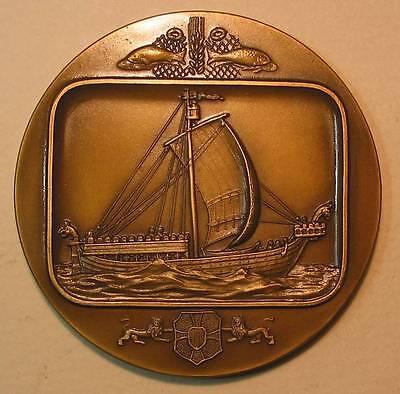 Danish Ship / Bronze Medal by J.Alves