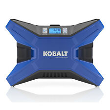 KOBALT Electric Portable Air Compressor 12Volt/20 Volt Tire Inflator 120 PSI NEW