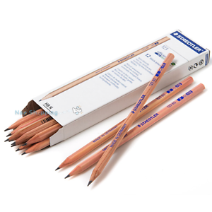 STAEDTLER-123-60-Natural-wood-pencil-1-dozen-HB