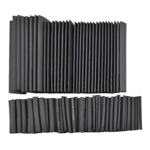 328Pcs Rubber Cable Wires Insulate Bundle Repair Heat Shrink Tube Tubing Wrap