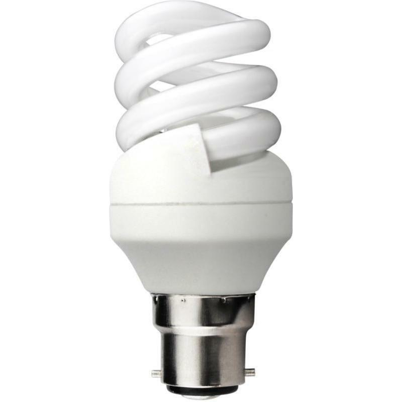 KOSNIC BRANDED Energy Saving CFL 11W Light Bulbs BC Bayonet B22 2700K WARM WHITE