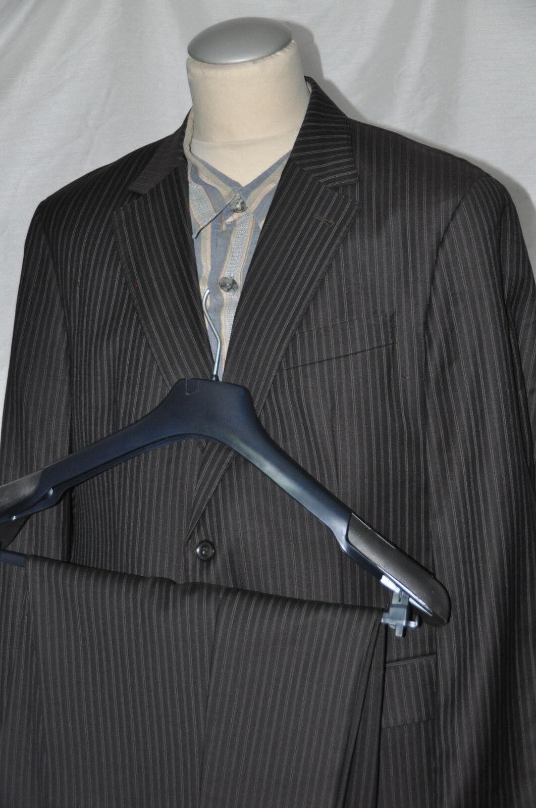 Luxus- Geschäft-Anzug CERRUTI1881 Eineiher WINTERISSIMO Schurwolle  Gr.26  52kur