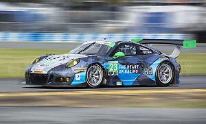 Porsche 911 Gt3 R Gtd Class Gt Daytona At Rolex 24 Race Car
