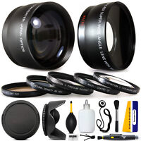 Panasonic Lumix Dmc-fz70 Fz72 Fz70k, 10 Piece Ultimate Lens Kit