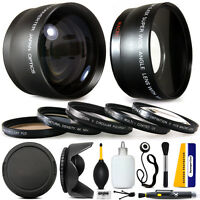 Panasonic Lumix Dmc-fz70 Fz72 Fz70k, 10 Piece Ultimate Lens Kit