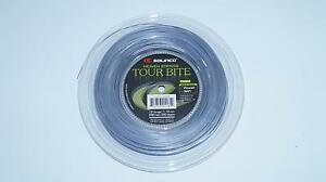 *neu*solinco Tour Bite Saitenset 12m Silber 1.10 Mm Tennis Stringset Silver New