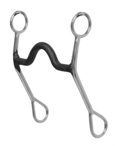 """Stainless Steel Curb Bit With 5/"""" Sweet Iron Port Mouth NEW HORSE TACK!"""