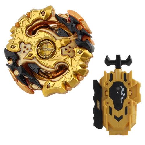 Beyblade Burst Gold Beys Blades w// L-R Launcher Starter Bayblade Spinning Toy
