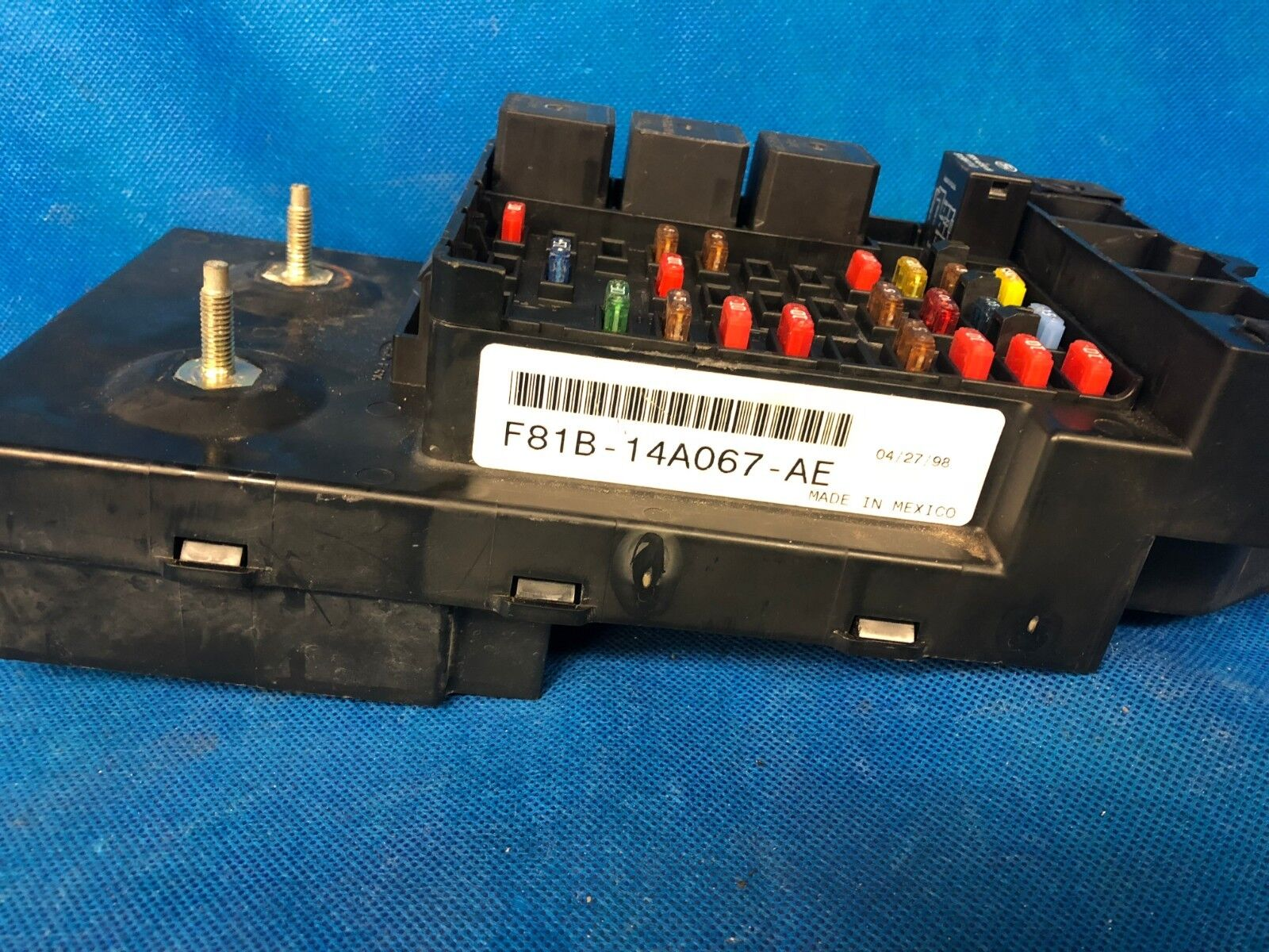 1999 Ford F350 Fuse Panel F81 14a067 Eg Data Wiring Diagrams \u2022 Ford  F250 Transmission Control Module Fuse Box Ford F250 Ebay