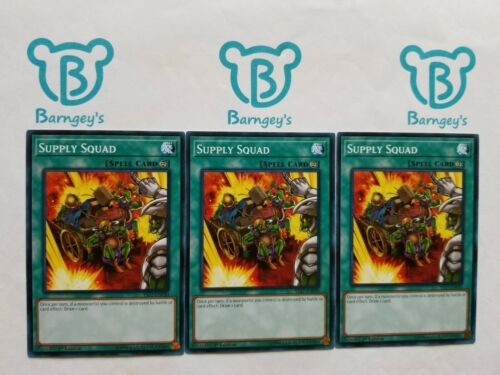 3 Supply Squad,PLAYSET,1st Edition,YS17,Common,NM,Yugioh,Barngey/'s
