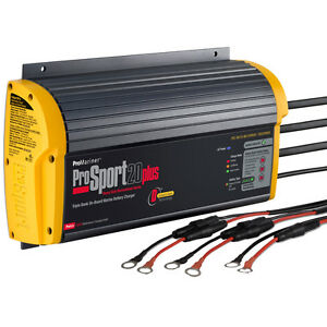 ProMariner-ProSport-Plus-20-Amp-3-Bank-HD-On-Board-12V-Boat-Battery-Charger
