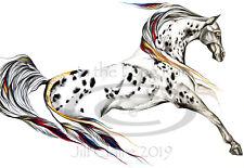 PAINTING NATIVE AMERICAN BODMER BLACKFOOT HORSEBACK POSTER ART PRINT BB12247B