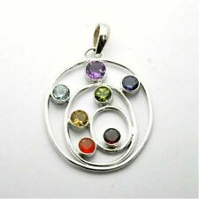 swirl rhinestone necklace pendant charm chain charms alloy curl chakra
