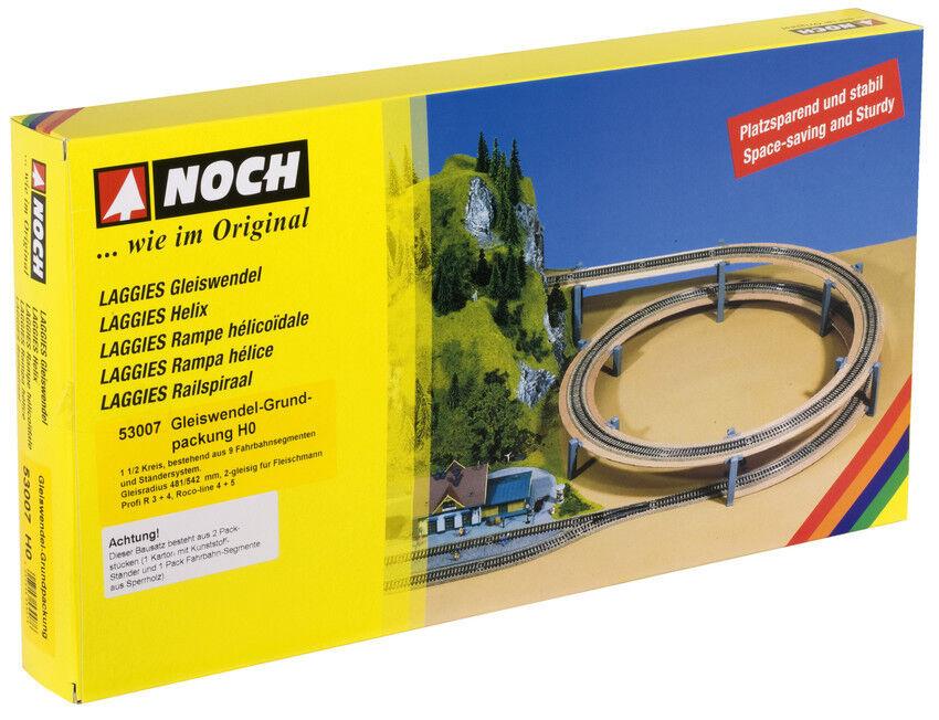 di moda NOCH 53007 Spur Spur Spur H0, LAGGIES Gleiswendel-Komplettbausatz, Gcorreredkreis  Neu in OVP   fornire un prodotto di qualità