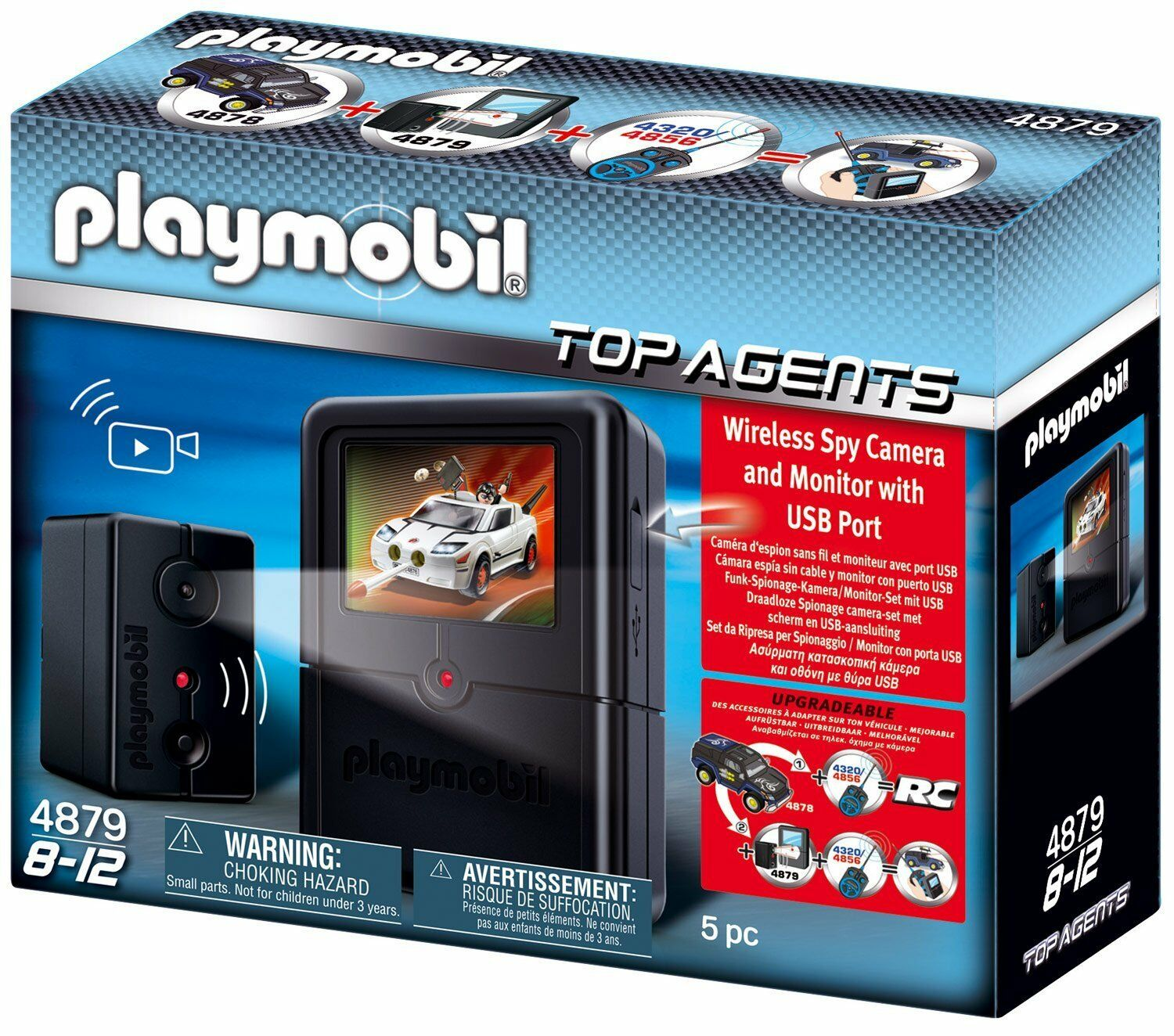 Playmobil 4879, Espionage Camera Set, New Ovp
