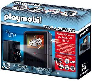 Playmobil 4879, Espion Caméra Set , Neuf, Emballage D'origine