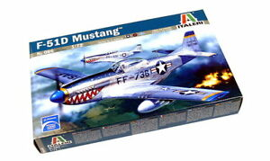 ITALERI-Aircraft-Model-1-72-F-51D-Mustang-Scale-Hobby-086-T0086