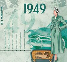 68th Birthday Gifts - 1949 Classic Retro Pop CD Greetings Card - CD Card Company