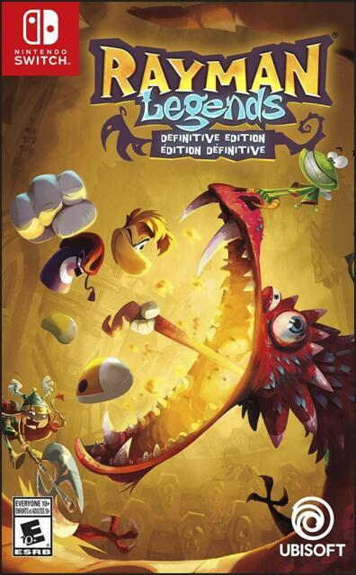 Rayman Legends Definitive Edition  Nintendo Switch *Brand new* $0 shipping