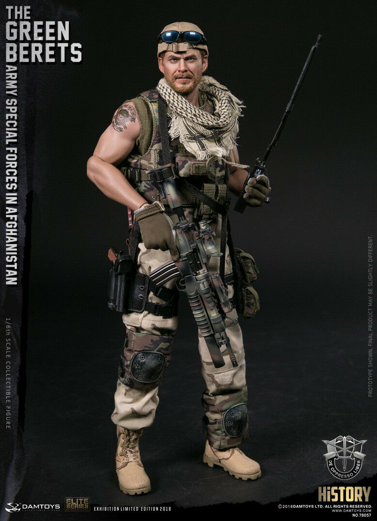 778def2962f01 1 6 DAMTOYS Green Berets Army Special Forces in Afghanistan 2018 WF Ver.  78057 for sale online