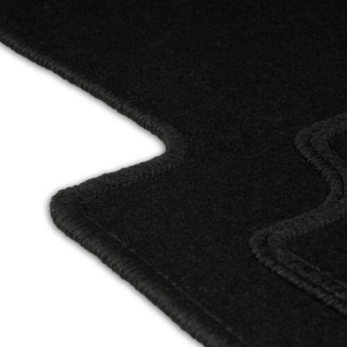 Fußmatten Auto Autoteppich passend für BMW X6 E71 E72 2008-2014 Velours Vorne