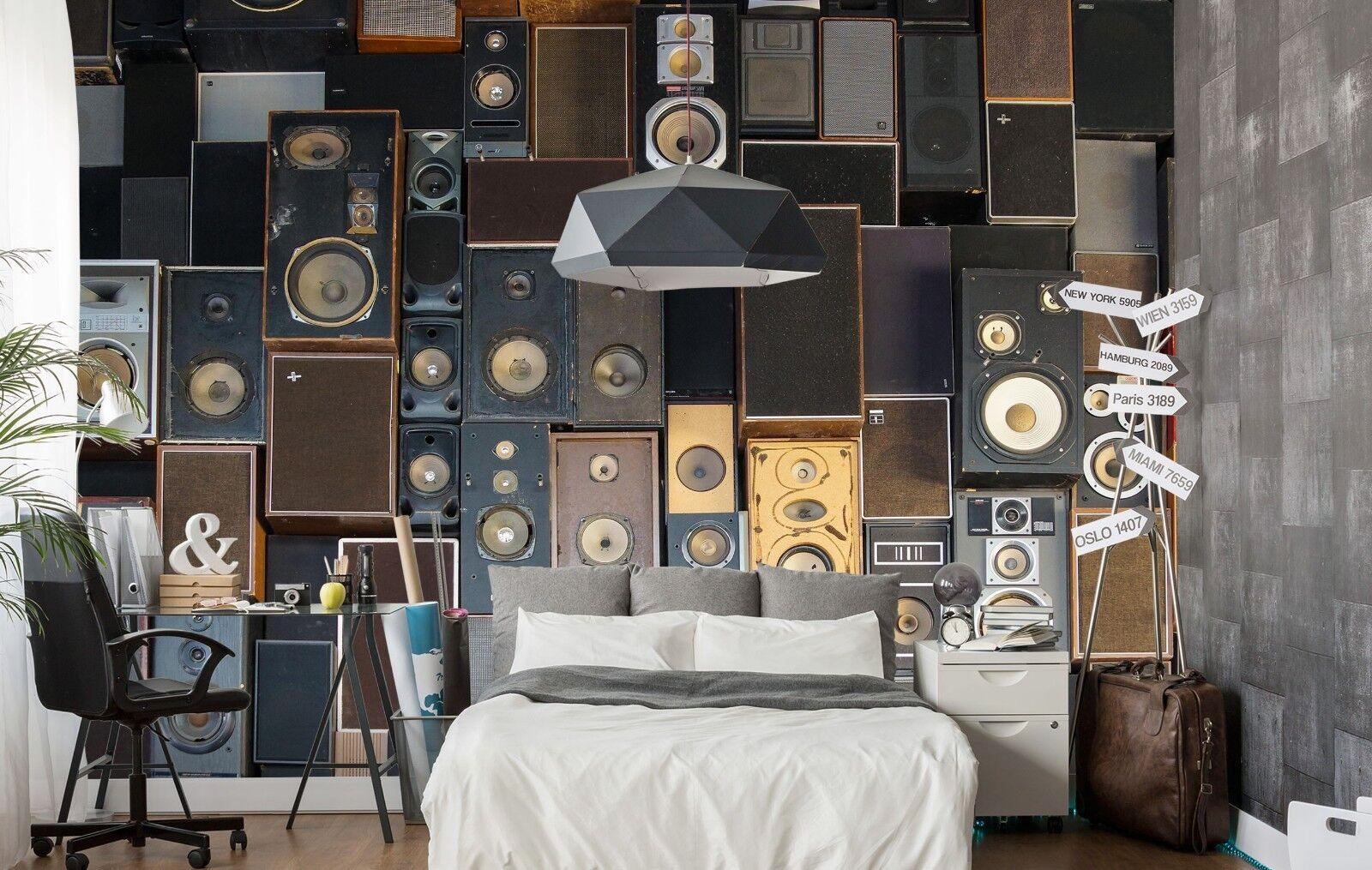3D Speakers 7135 Wall Paper Print Wall Decal Deco Indoor Wall Murals US Summer